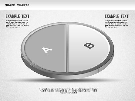 3D Donut Pie Chart, Slide 2, 01234, Pie Charts — PoweredTemplate.com