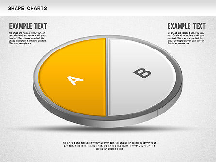 3D Donut Pie Chart, Slide 3, 01234, Pie Charts — PoweredTemplate.com
