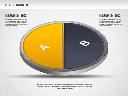 3D Donut Pie Chart, Slide 4, 01234, Pie Charts — PoweredTemplate.com