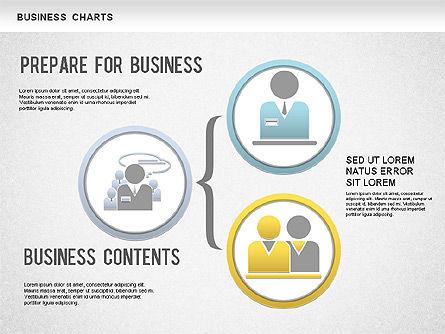 Organizational Charts: Org gráfico de negócio #01236