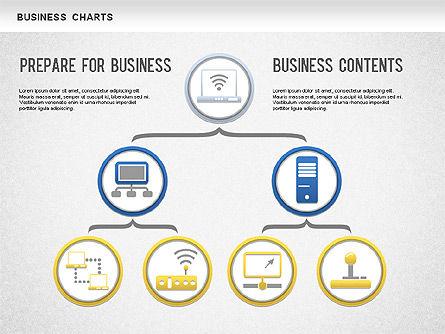 Org Business Chart, Slide 2, 01236, Organizational Charts — PoweredTemplate.com