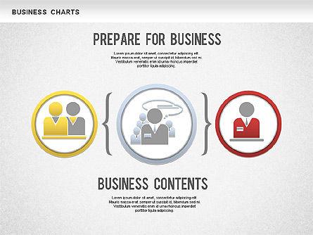 Org Business Chart, Slide 4, 01236, Organizational Charts — PoweredTemplate.com