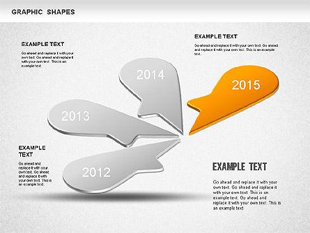 Timeline Shapes, Slide 5, 01237, Timelines & Calendars — PoweredTemplate.com