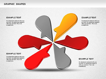 Timeline Shapes, Slide 7, 01237, Timelines & Calendars — PoweredTemplate.com
