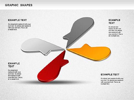Timeline Shapes, Slide 8, 01237, Timelines & Calendars — PoweredTemplate.com