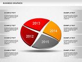 Pie Charts: Jahre Vergleich Kreisdiagramm #01238