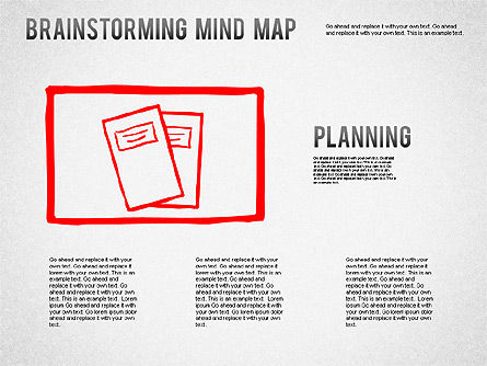Business Models: Carte mentale de Brainstorming #01239