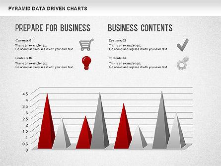 Pyramid Bar Chart, Slide 11, 01241, Business Models — PoweredTemplate.com