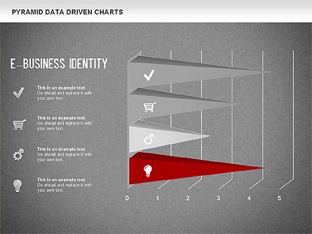 Pyramid Bar Chart, Slide 16, 01241, Business Models — PoweredTemplate.com