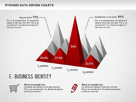 Pyramid Bar Chart, Slide 2, 01241, Business Models — PoweredTemplate.com