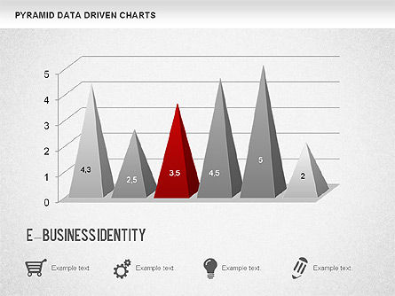 Pyramid Bar Chart, Slide 3, 01241, Business Models — PoweredTemplate.com