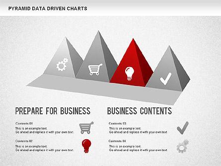 Pyramid Bar Chart, Slide 5, 01241, Business Models — PoweredTemplate.com