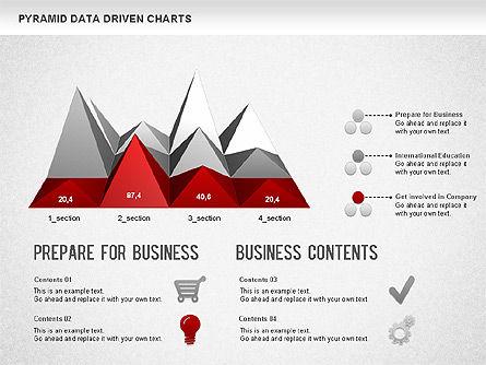 Pyramid Bar Chart, Slide 7, 01241, Business Models — PoweredTemplate.com