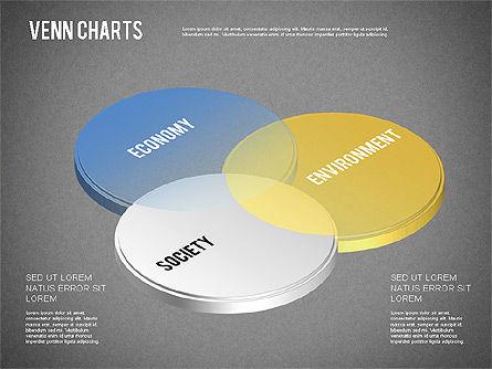 Colored Venn Diagram, Slide 10, 01243, Business Models — PoweredTemplate.com