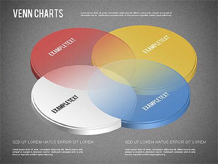 Colored Venn Diagram, Slide 11, 01243, Business Models — PoweredTemplate.com