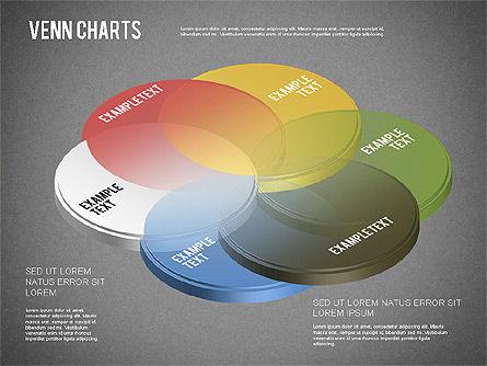 Colored Venn Diagram, Slide 13, 01243, Business Models — PoweredTemplate.com