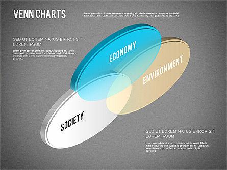 Colored Venn Diagram, Slide 15, 01243, Business Models — PoweredTemplate.com