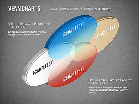 Colored Venn Diagram, Slide 16, 01243, Business Models — PoweredTemplate.com
