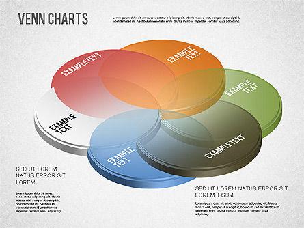 Colored Venn Diagram, Slide 5, 01243, Business Models — PoweredTemplate.com