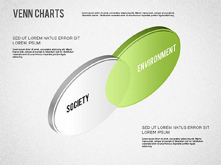 Colored Venn Diagram, Slide 6, 01243, Business Models — PoweredTemplate.com