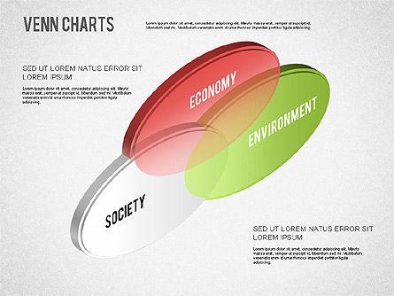 Colored Venn Diagram, Slide 7, 01243, Business Models — PoweredTemplate.com