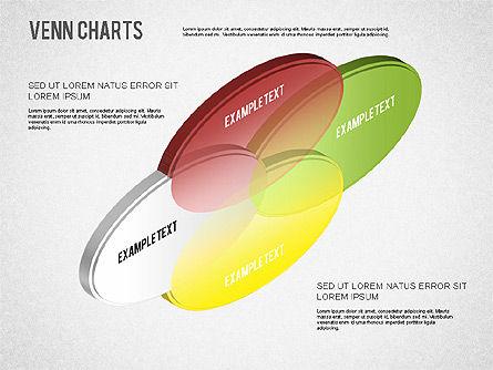 Colored Venn Diagram, Slide 8, 01243, Business Models — PoweredTemplate.com