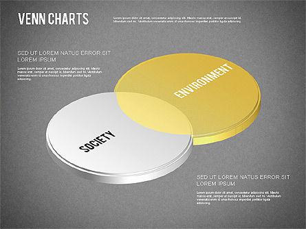 Colored Venn Diagram, Slide 9, 01243, Business Models — PoweredTemplate.com