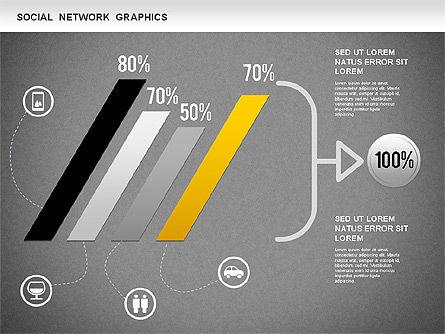 Social Network Diagram, Slide 14, 01245, Business Models — PoweredTemplate.com
