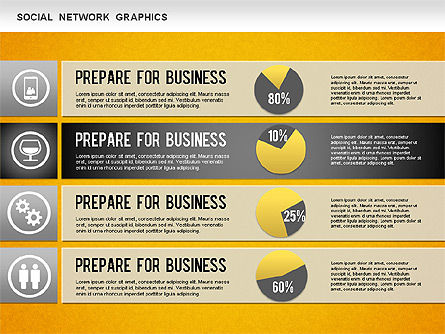 Social Network Diagram, Slide 16, 01245, Business Models — PoweredTemplate.com