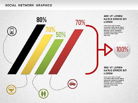 Social Network Diagram, Slide 5, 01245, Business Models — PoweredTemplate.com