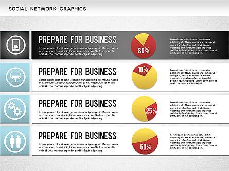 Social Network Diagram, Slide 6, 01245, Business Models — PoweredTemplate.com