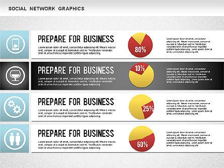 Social Network Diagram, Slide 7, 01245, Business Models — PoweredTemplate.com