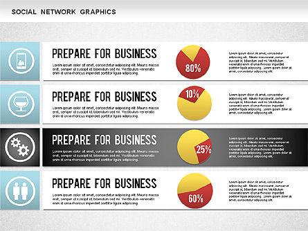 Social Network Diagram, Slide 8, 01245, Business Models — PoweredTemplate.com