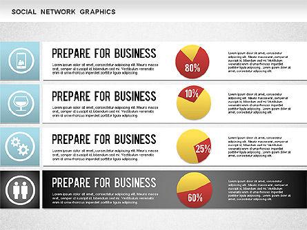 Social Network Diagram, Slide 9, 01245, Business Models — PoweredTemplate.com