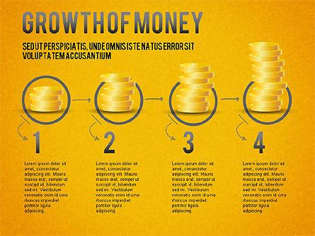 Growth of Money Diagram, Slide 15, 01246, Business Models — PoweredTemplate.com