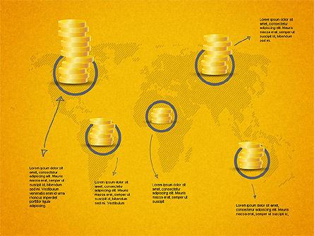 Growth of Money Diagram, Slide 16, 01246, Business Models — PoweredTemplate.com