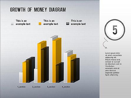 Growth of Money Diagram, Slide 6, 01246, Business Models — PoweredTemplate.com