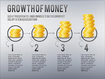 Growth of Money Diagram, Slide 8, 01246, Business Models — PoweredTemplate.com