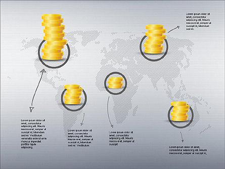 Growth of Money Diagram, Slide 9, 01246, Business Models — PoweredTemplate.com