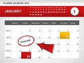 Timelines & Calendars: Planner Calendar 2013 #01247