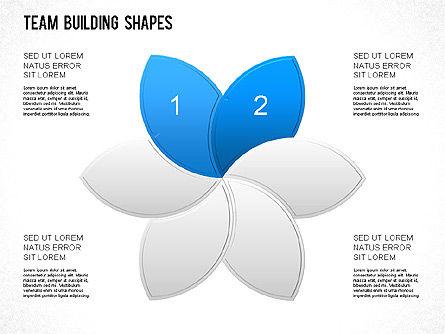 Team Building Shapes Collection, Slide 11, 01252, Shapes — PoweredTemplate.com