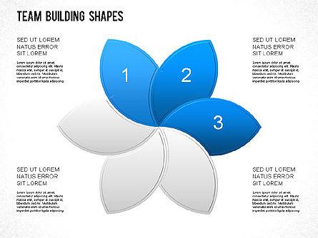 Team Building Shapes Collection, Slide 12, 01252, Shapes — PoweredTemplate.com