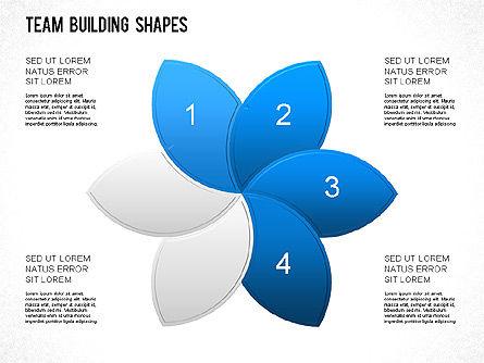 Team Building Shapes Collection, Slide 13, 01252, Shapes — PoweredTemplate.com