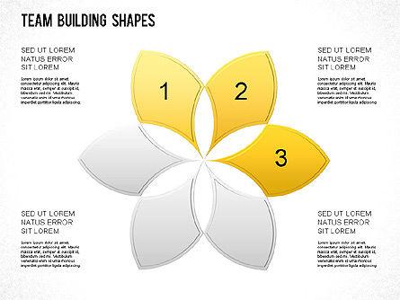 Team Building Shapes Collection, Slide 26, 01252, Shapes — PoweredTemplate.com