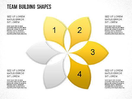 Team Building Shapes Collection, Slide 27, 01252, Shapes — PoweredTemplate.com