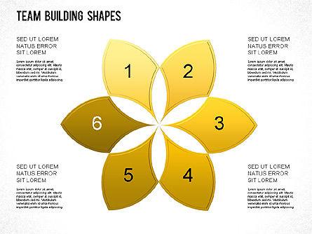 Team Building Shapes Collection, Slide 29, 01252, Shapes — PoweredTemplate.com