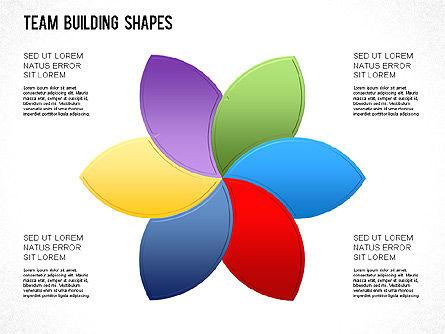 Team Building Shapes Collection, Slide 9, 01252, Shapes — PoweredTemplate.com