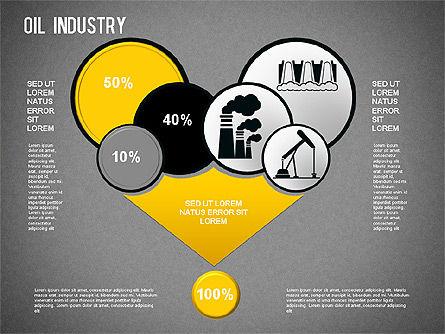 Oil Industry Diagram, Slide 12, 01254, Presentation Templates — PoweredTemplate.com