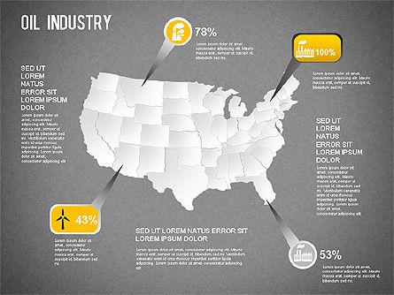 Oil Industry Diagram, Slide 13, 01254, Presentation Templates — PoweredTemplate.com