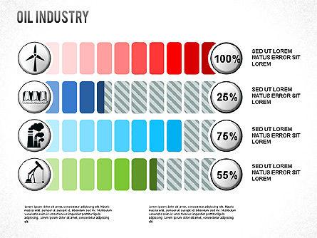 Oil Industry Diagram, Slide 3, 01254, Presentation Templates — PoweredTemplate.com